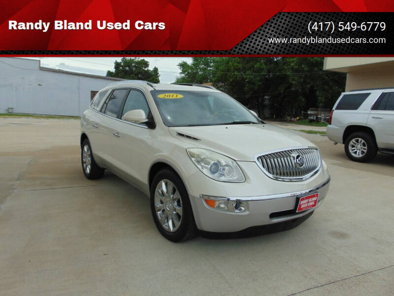 2011 Buick Enclave for sale at Randy Bland Used Cars in Nevada MO
