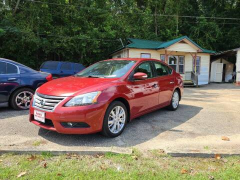 2013 Nissan Sentra for sale at Mc Calls Auto Sales in Brewton AL