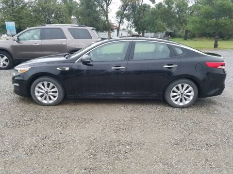 2016 Kia Optima for sale at Wheel - N - Deal Auto Sales Inc in Fairbury NE