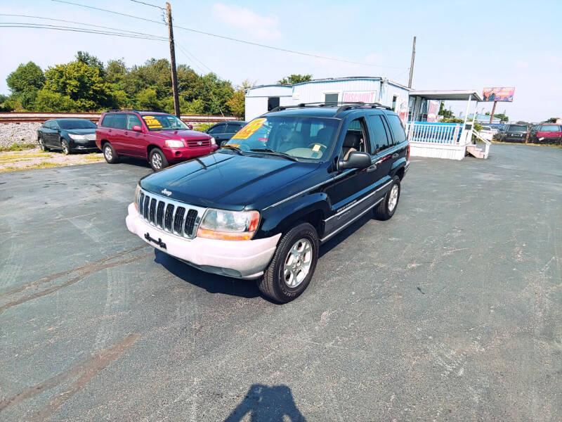 2001 Jeep Grand Cherokee for sale at DISCOUNT AUTO SALES in Murfreesboro TN
