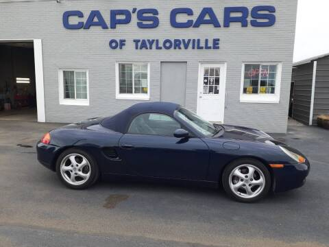 1997 Porsche Boxster for sale at Caps Cars Of Taylorville in Taylorville IL