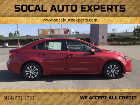 2021 Toyota Corolla Hybrid for sale at SoCal Auto Experts in Culver City CA
