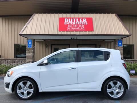 2015 Chevrolet Sonic for sale at Butler Enterprises in Savannah GA