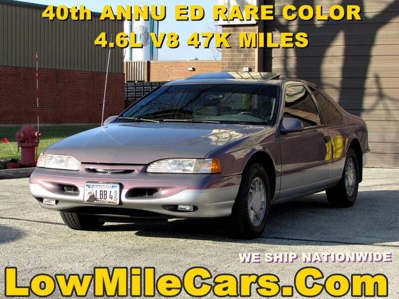 1995 Ford Thunderbird for sale at A1 Auto Sales in Burr Ridge IL