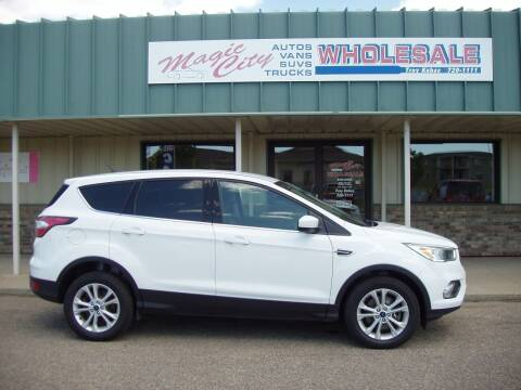 2017 Ford Escape for sale at Magic City Wholesale in Minot ND