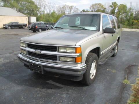 1999 Chevrolet Tahoe for sale at Economy Motors in Racine WI