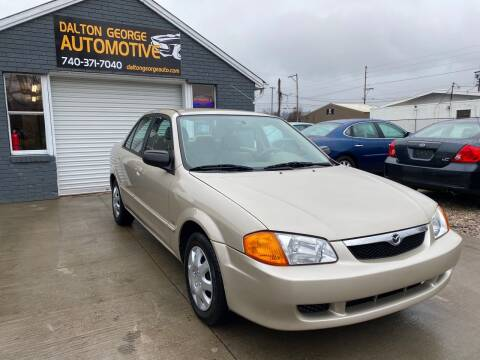 2000 Mazda Protege for sale at Dalton George Automotive in Marietta OH
