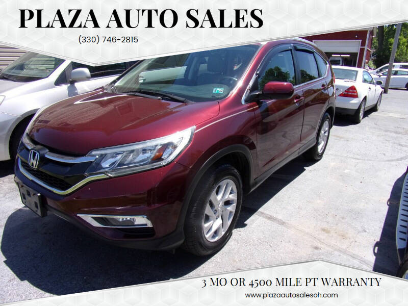 2015 Honda CR-V for sale at Plaza Auto Sales in Poland OH