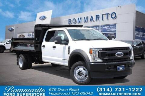 2020 Ford F-550 Super Duty for sale at NICK FARACE AT BOMMARITO FORD in Hazelwood MO
