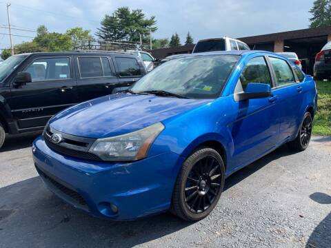 2010 Ford Focus for sale at GMG AUTO SALES in Scranton PA