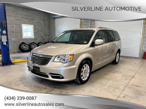 2016 Chrysler Town and Country for sale at Silverline Automotive in Lynchburg VA
