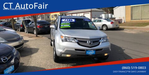 2007 Acura MDX for sale at CT AutoFair in West Hartford CT
