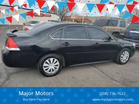 2011 Chevrolet Impala for sale at Major Motors in Twin Falls ID