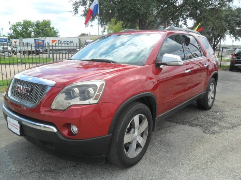 2012 GMC Acadia for sale at Talisman Motor City in Houston TX