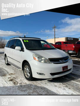 2006 Toyota Sienna for sale at Quality Auto City Inc. in Laramie WY