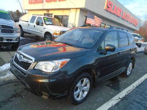 2014 Subaru Forester for sale at Island Auto Buyers in West Babylon NY