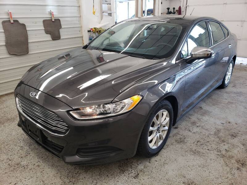 2016 Ford Fusion for sale at Jem Auto Sales in Anoka MN