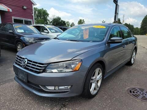 2015 Volkswagen Passat for sale at Hwy 13 Motors in Wisconsin Dells WI