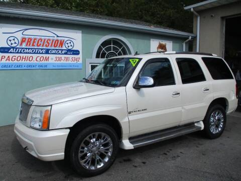 2006 Cadillac Escalade for sale at Precision Automotive Group in Youngstown OH