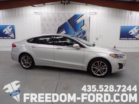 2019 Ford Fusion for sale at Freedom Ford Inc in Gunnison UT