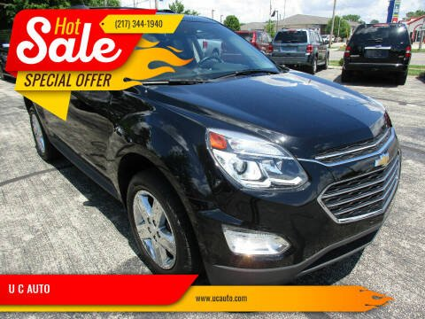 2016 Chevrolet Equinox for sale at U C AUTO in Urbana IL