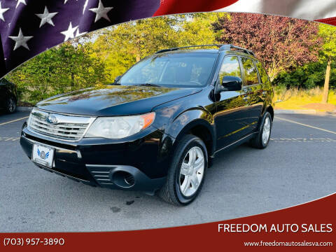 2009 Subaru Forester for sale at Freedom Auto Sales in Chantilly VA