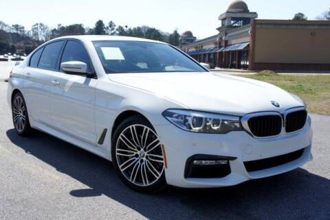 2018 BMW 5 Series for sale at CU Carfinders in Norcross GA