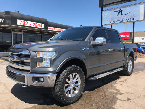 2015 Ford F-150 for sale at NORRIS AUTO SALES in Oklahoma City OK
