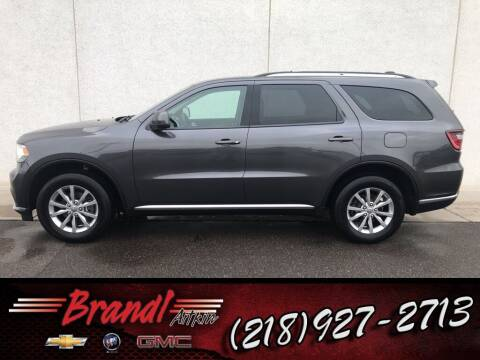 2017 Dodge Durango for sale at Brandl GM in Aitkin MN