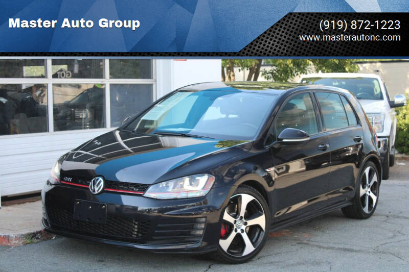 2015 Volkswagen Golf GTI for sale at Master Auto Group in Raleigh NC