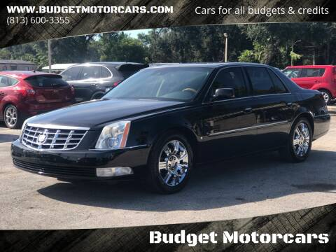 2010 Cadillac DTS for sale at Budget Motorcars in Tampa FL