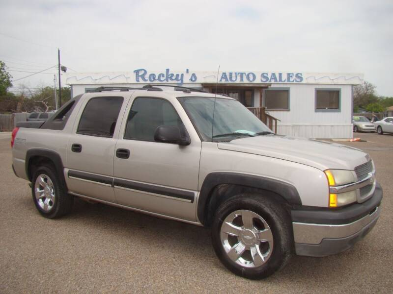 2004 Chevrolet Avalanche for sale at Rocky's Auto Sales in Corpus Christi TX