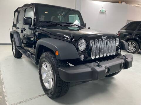 2015 Jeep Wrangler Unlimited for sale at Mag Motor Company in Walnut Creek CA
