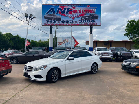 2015 Mercedes-Benz E-Class for sale at ANF AUTO FINANCE in Houston TX