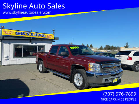 2013 Chevrolet Silverado 1500 for sale at Skyline Auto Sales in Santa Rosa CA