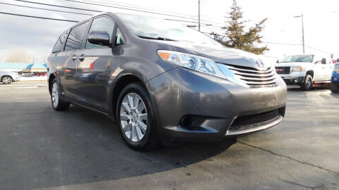 2012 Toyota Sienna for sale at Action Automotive Service LLC in Hudson NY