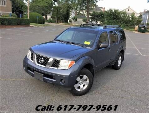 2006 Nissan Pathfinder for sale at Wheeler Dealer Inc. in Acton MA