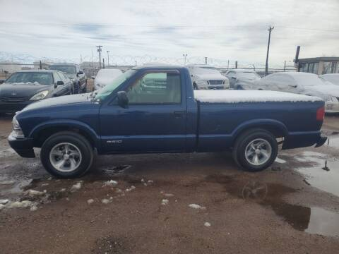 2002 Chevrolet S-10 for sale at PYRAMID MOTORS - Fountain Lot in Fountain CO
