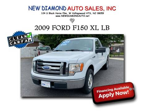 2009 Ford F-150 for sale at New Diamond Auto Sales, INC in West Collingswood NJ