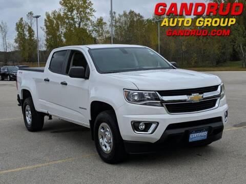 2019 Chevrolet Colorado for sale at Gandrud Dodge in Green Bay WI