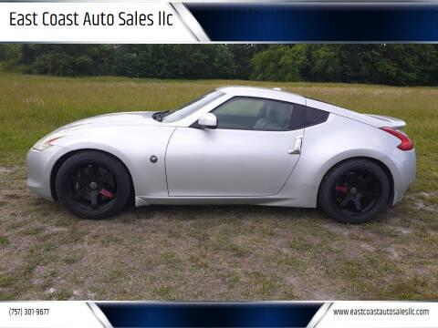 2009 Nissan 370Z for sale at East Coast Auto Sales llc in Virginia Beach VA