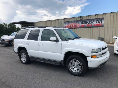 2004 Chevrolet Tahoe for sale at Stikeleather Auto Sales in Taylorsville NC