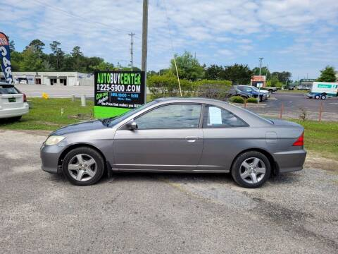2004 Honda Civic for sale at AutoBuyCenter.com in Summerville SC