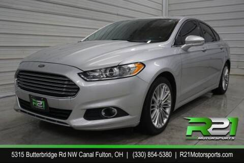 2016 Ford Fusion for sale at Route 21 Auto Sales in Canal Fulton OH