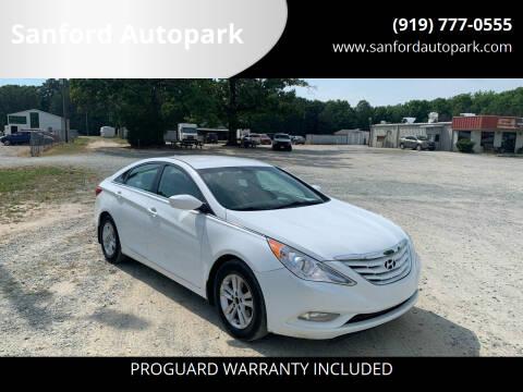 2013 Hyundai Sonata for sale at Sanford Autopark in Sanford NC