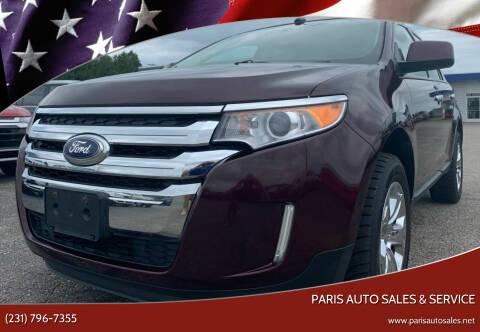 2011 Ford Edge for sale at Paris Auto Sales & Service in Big Rapids MI