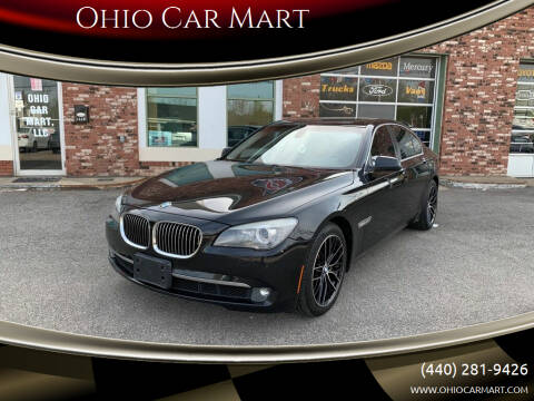 2012 BMW 7 Series for sale at Ohio Car Mart in Elyria OH