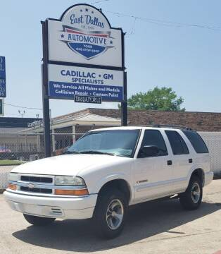 2004 Chevrolet Blazer for sale at East Dallas Automotive in Dallas TX