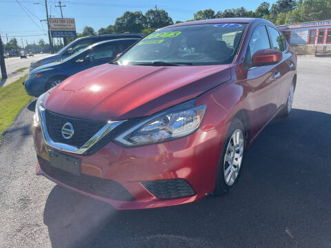 2017 Nissan Sentra for sale at Cars for Less in Phenix City AL