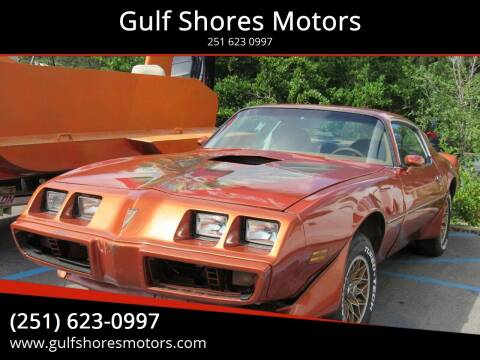 1980 Pontiac Trans Am for sale at Gulf Shores Motors in Gulf Shores AL